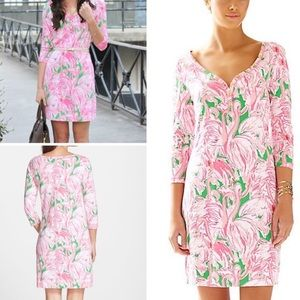 Lilly Pulitzer Flamingo Palmetto Dress Size XS
